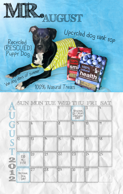 Mr. August Calendar